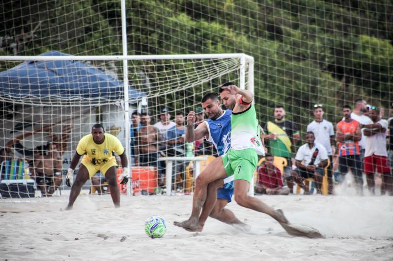 Definidos os campeões das categorias Novos e Feminino do Beach Soccer 2020