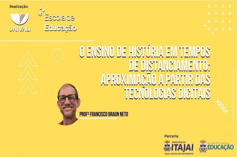 Secretaria de Educação realiza formação digital em parceria com a Univali