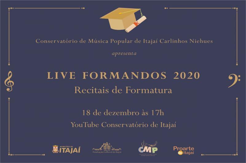 Conservatório de Música apresenta recital de formatura online