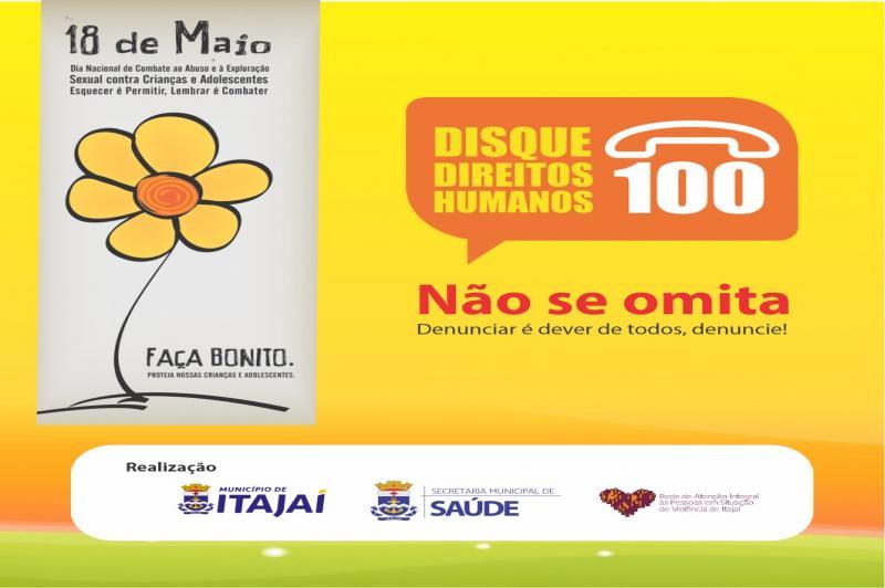 Itajaí realiza live sobre o combate à violência sexual contra crianças e adolescentes