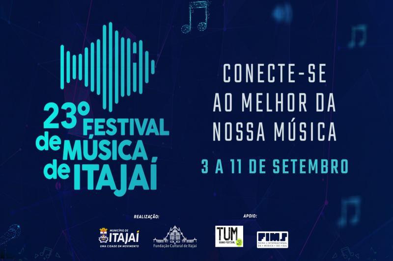 Abertas as inscrições para as oficinas do 23º Festival de Música de Itajaí