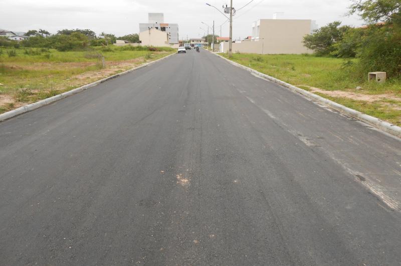 Conclu�da pavimenta��o da Rua Germano Bastos, na Murta