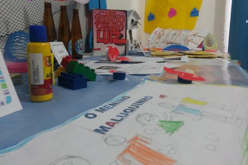 CEIs comemoram Semana do Livro Infantil