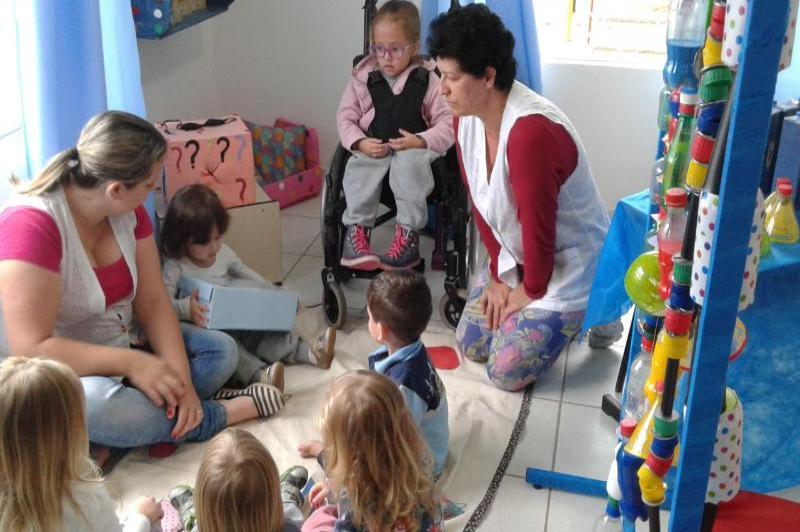 Unidades Escolares realizam atividades diferenciadas na semana da pessoa com defici�ncia