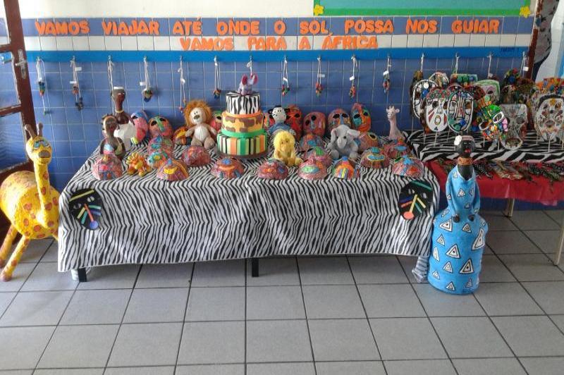 Unidades Escolares trabalham a Cultura Africana em sala de aula
