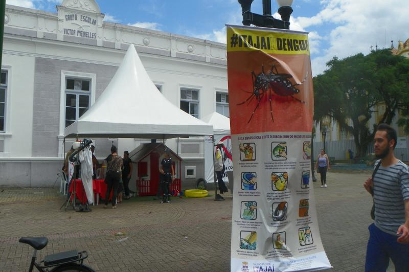 A��o �Todos Contra a Dengue� mobiliza centenas de pessoas