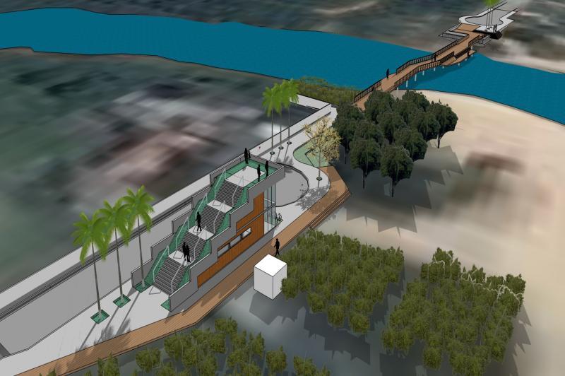 Lagoa do Cassino ter� travessia para pedestres e ciclistas