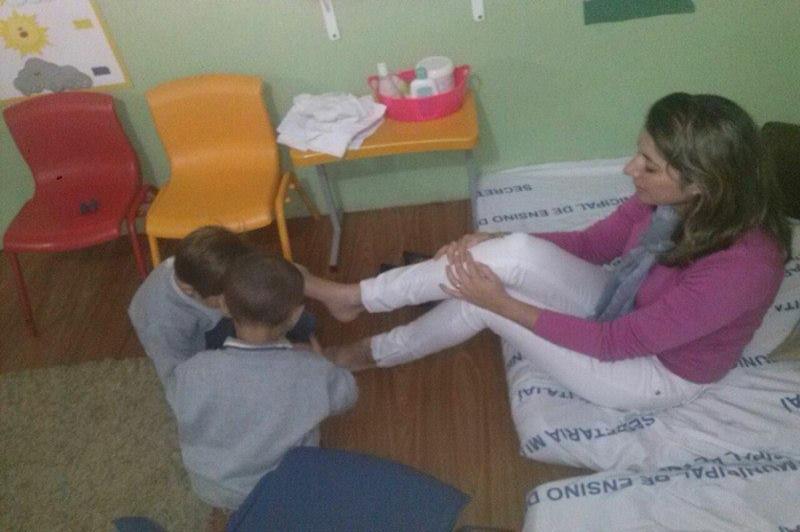CEI Regiane Mara da Luz da Silva realiza projeto para integra��o entre pais e alunos