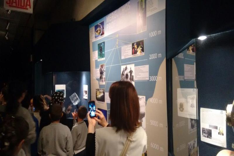 Vencedor da Gincana Ambiental visita Museu Oceanogr�fico