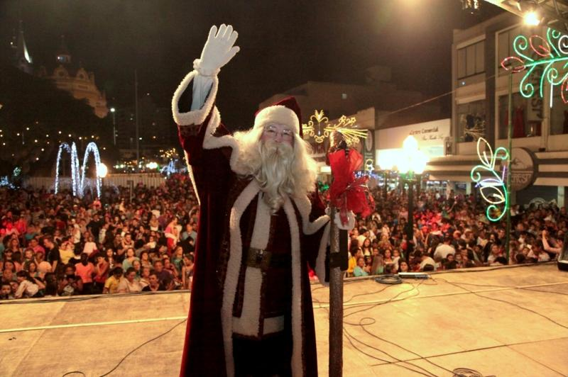 Abertura do Natal será nesta sexta-feira