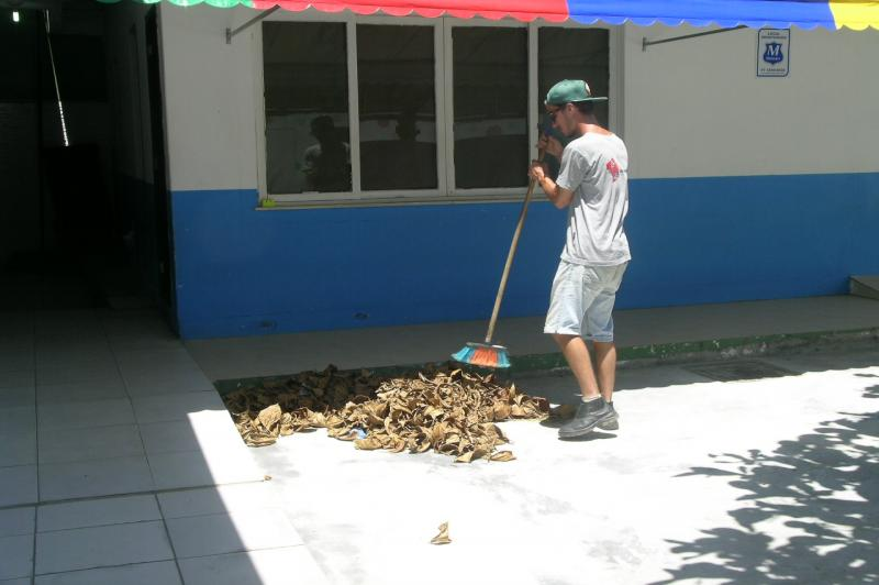 Escolas recebem reparos para início do ano letivo
