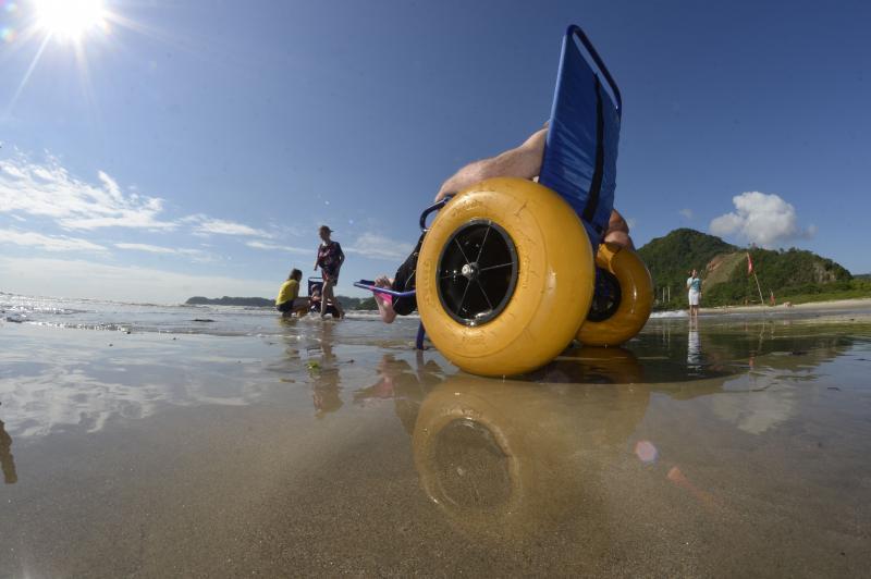 Domingo é dia de Projeto Rodas ao Mar