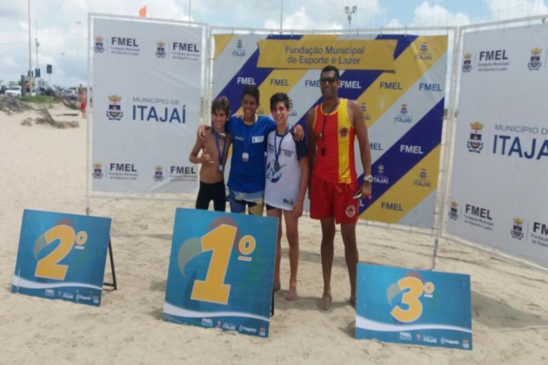 Triatleta de Itajaí lidera Ranking Catarinense de Aquathlon e Triathlon