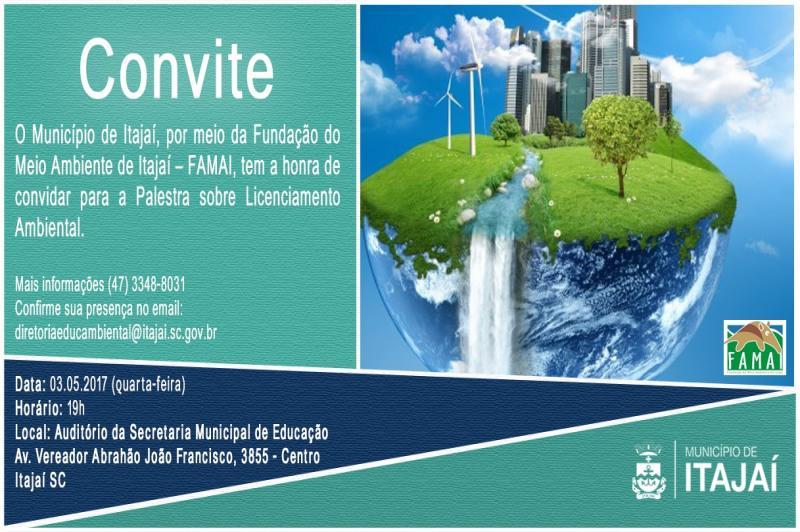 FAMAI promove palestra sobre licenciamento ambiental