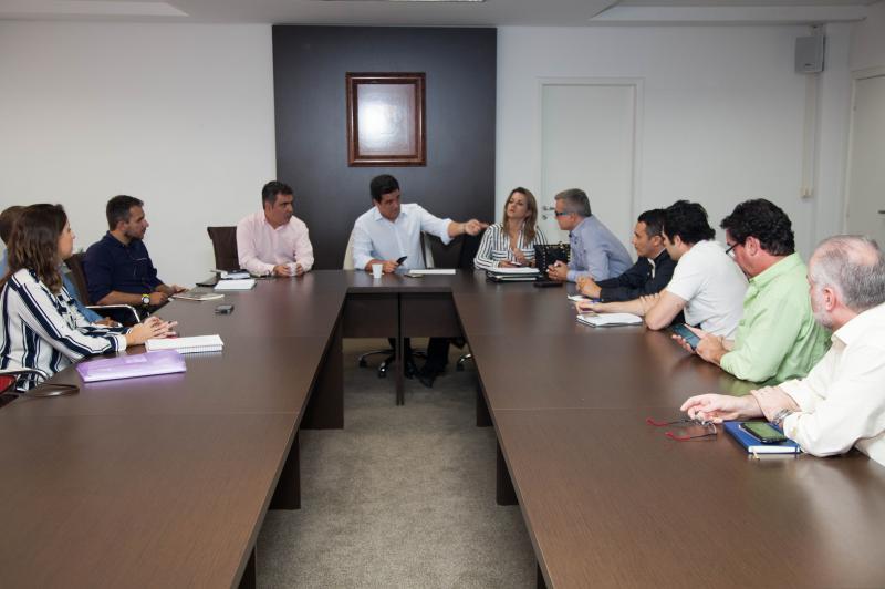 Prefeito de São Sebastião visita Município de Itajaí