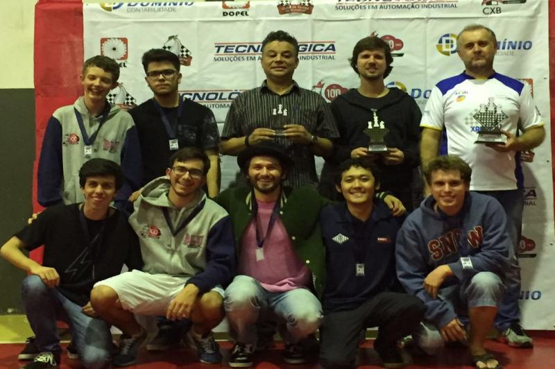 Itajaiense vence Campeonato Catarinense de Xadrez