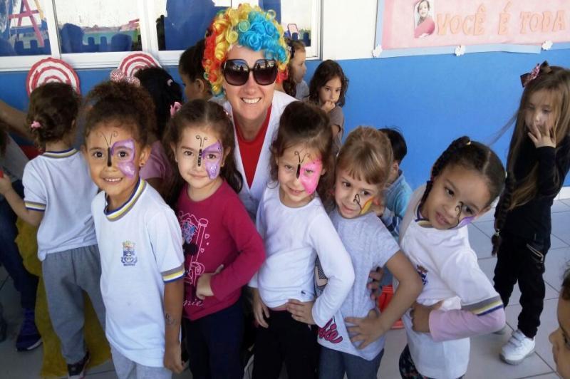 """""""Semana do Brincar"""" está repleta de diversão nos Centros de Educação Infantil"""