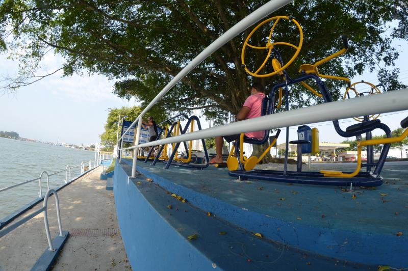 Instalação de pergolado e academia ao ar livre completam revitalização do Parque Náutico Odílio Garcia