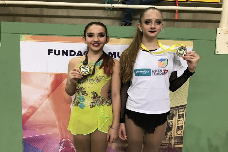 Patinadoras de Itajaí conquistam medalhas no Campeonato Brasileiro
