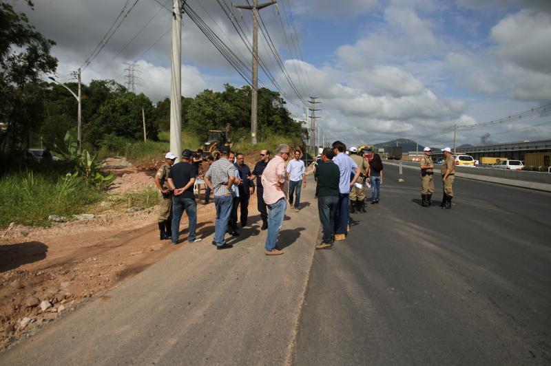 Moradores do bairro Itaipava terão travessia na Rodovia