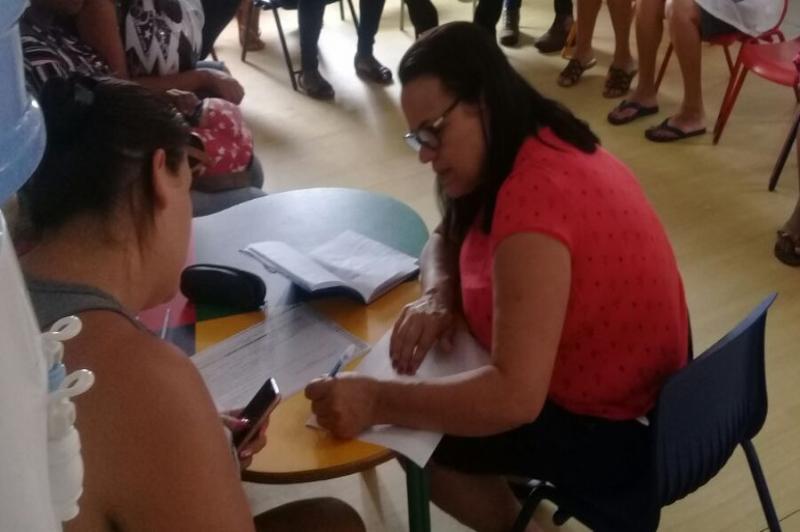CEI realiza entrevista com familiares de alunos