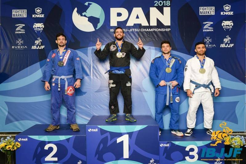Atleta de Itajaí é campeão Panamericano de Jiu-Jítsu