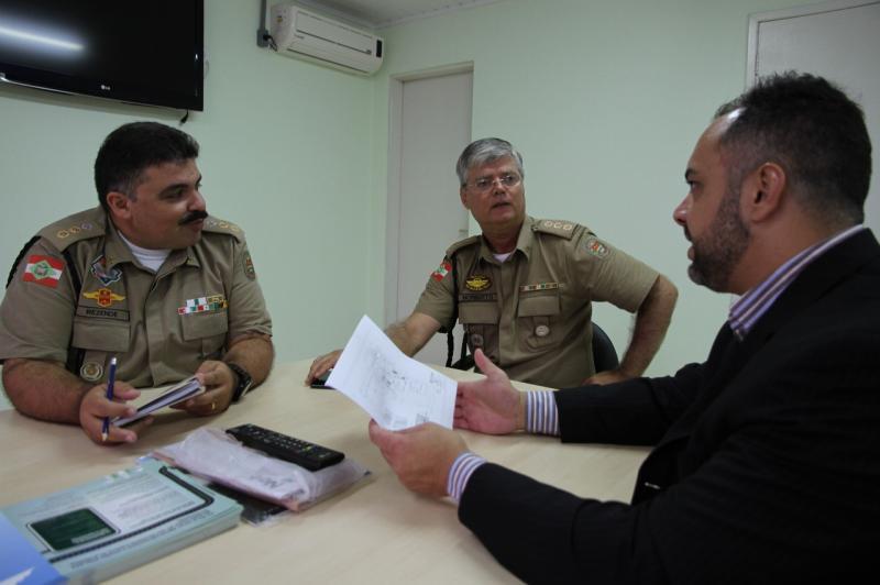 Município de Itajaí negocia instalação de posto da Polícia Militar Rodoviária na Antonio Heil
