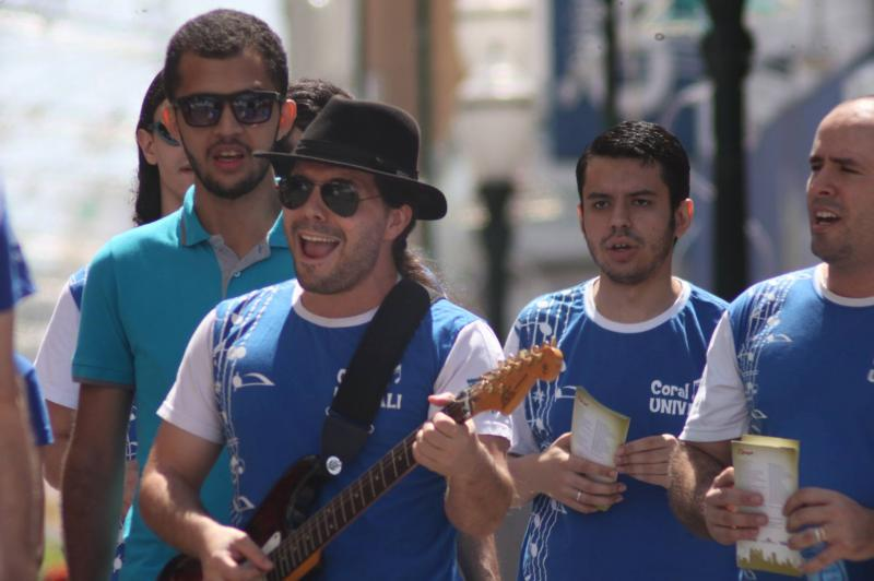 Itajaí Stopover terá Noite de Corais com artistas da região