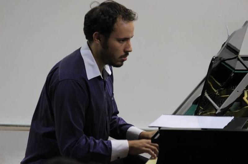 Concerto gratuito de piano solo é apoiado pela Fundação Cultural de Itajaí