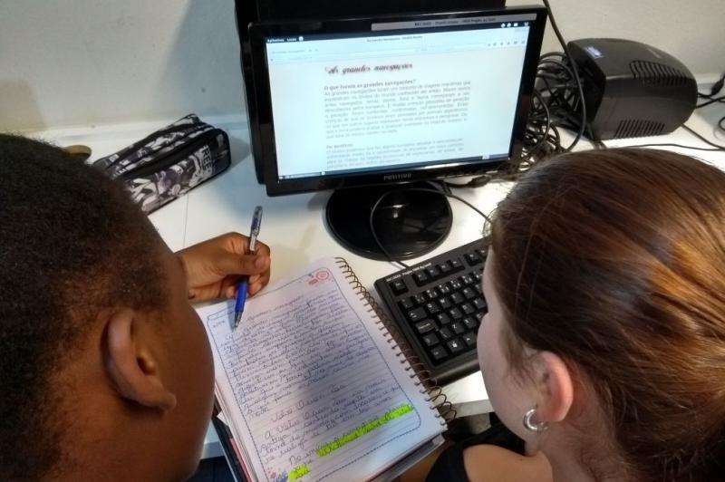 Estudantes desenvolvem projeto sobre a história da navegação