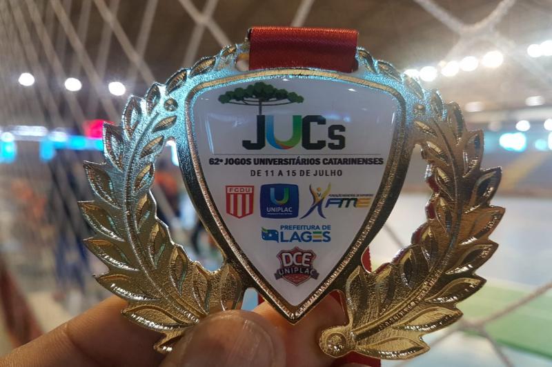 Handebol de Itajaí é pentacampeão invicto  dos Jogos Universitários Catarinenses