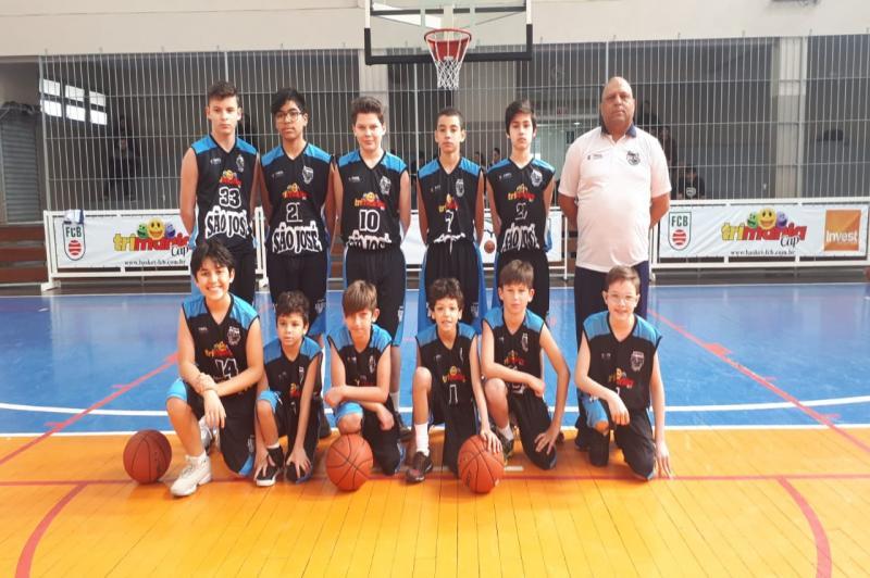 Itajaí sedia finais do Catarinense de Basquete sub-13