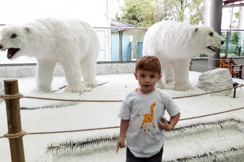 Crianças de Centro de Educação Infantil visitam zoológico