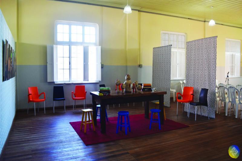 Ocupação Itajaí Criativa promove oficinas teatrais para professores