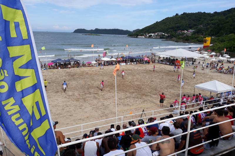 Inscrições do Beach Soccer seguem até 30 de novembro