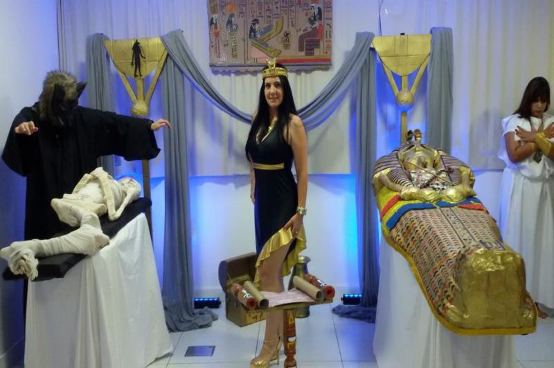 Biblioteca Pública recebe exposição Cultura Egípcia