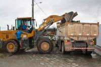 150 ruas e 250 caminhões é o saldo dos 10 primeiros dias do mutirão de limpeza