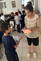 Centros de Educação Infantil realizam visitas ao Asilo Dom Bosco