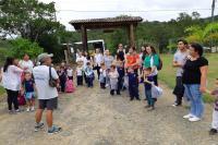 Centros de Educação Infantil de Itajaí realizam passeios em meio à natureza