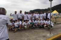 Instituto Cidade Sustentável participa de ação de limpeza em Cabeçudas