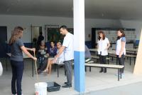 Escola Básica realiza oficina de sabão a partir do óleo de cozinha usado