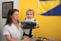 Começa a entrega de 139 mil peças dos uniformes de inverno da rede municipal de ensino de Itajaí