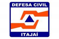 Defesa Civil de Itajaí está em estado de atenção devido às chuvas intensas