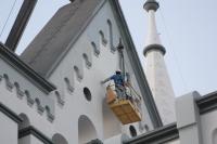 Pintura da Igreja Matriz marca última etapa da revitalização do monumento