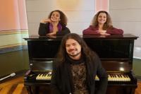 Giovanni Sagaz faz show gratuito no Museu Histórico de Itajaí