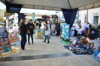 Trabalhos escolares da Rede Municipal de Ensino formam Praça Integradora