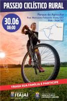 Secretaria Municipal da Agricultura promove Passeio Ciclístico Rural