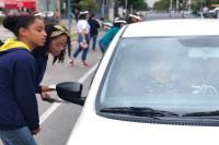 Alunos da Rede Municipal de Ensino participam de blitz educativa