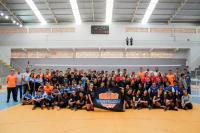 Final agitada da maior competição de vôlei das escolas de Itajaí