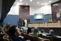Escola da Inteligência é destaque na Câmara de Vereadores de Itajaí